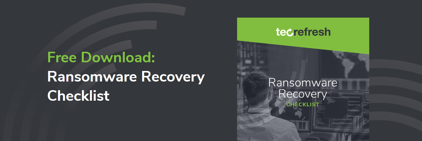 Ransomware Recovery Checklist