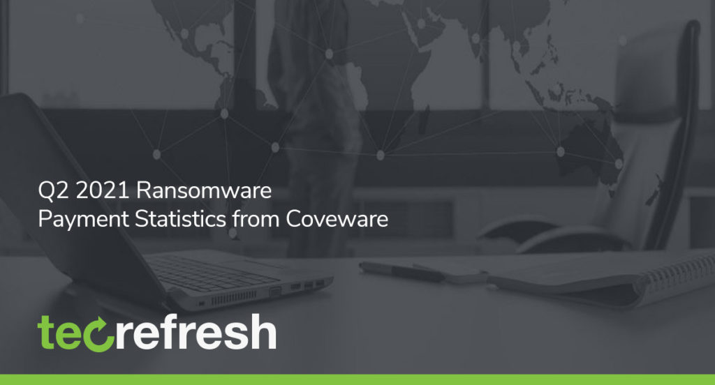 Q2 2021 Ransomware Payment Statistics from Coveware